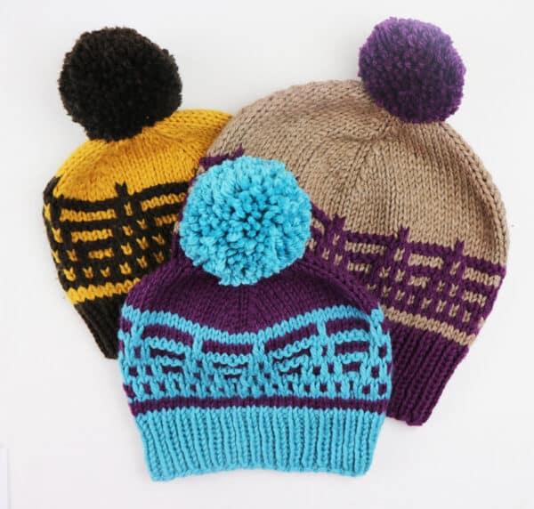tutorial paso a paso para aprender mosaic knitting
