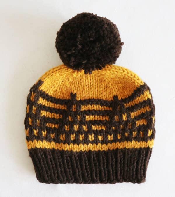 Cómo tejer un gorro con mosaic knitting