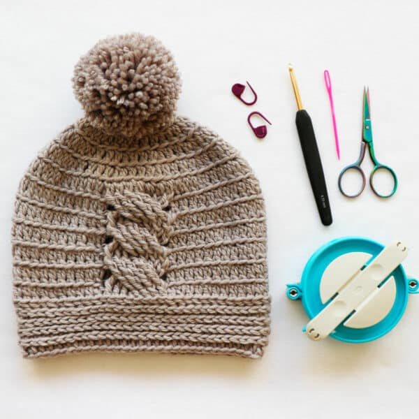 crochet baby hat tutorial