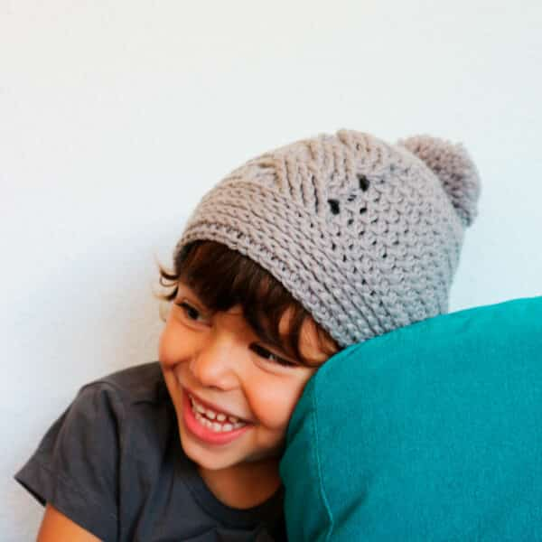 Cable Crochet Hat Pattern all sizes