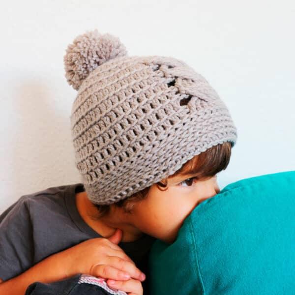 gorro bebé a crochet