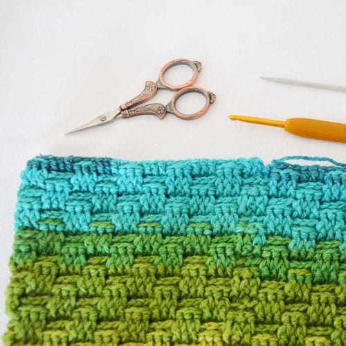 punto relieve en crochet video tutorial