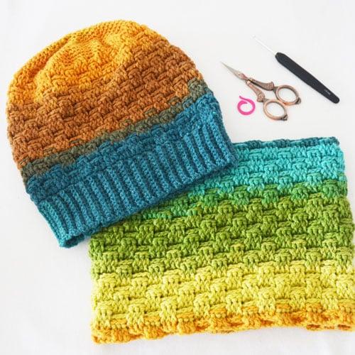 Cómo tejer un gorro con punto relieve en crochet