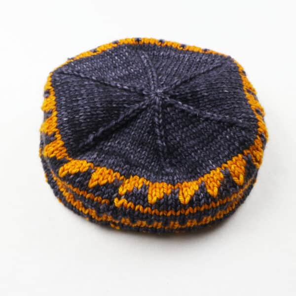 My Flowery Garden Knitting Hat Pattern