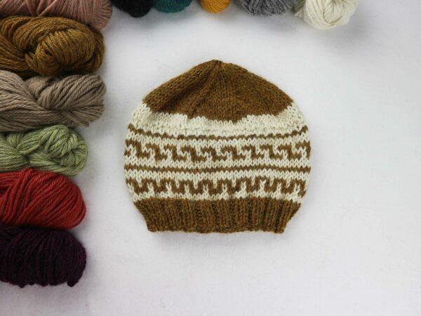 Gorro stranded knitting jacquard