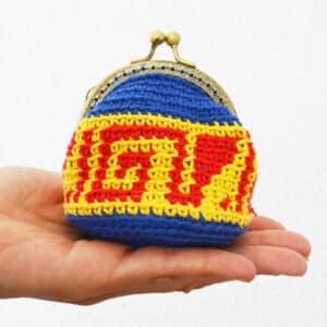como tejer un monedero facil con crochet