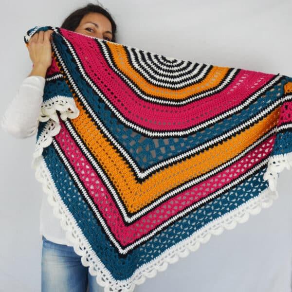 the mayita shawl crochet pattern