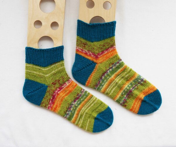 knitting socks with short rows video tutorial