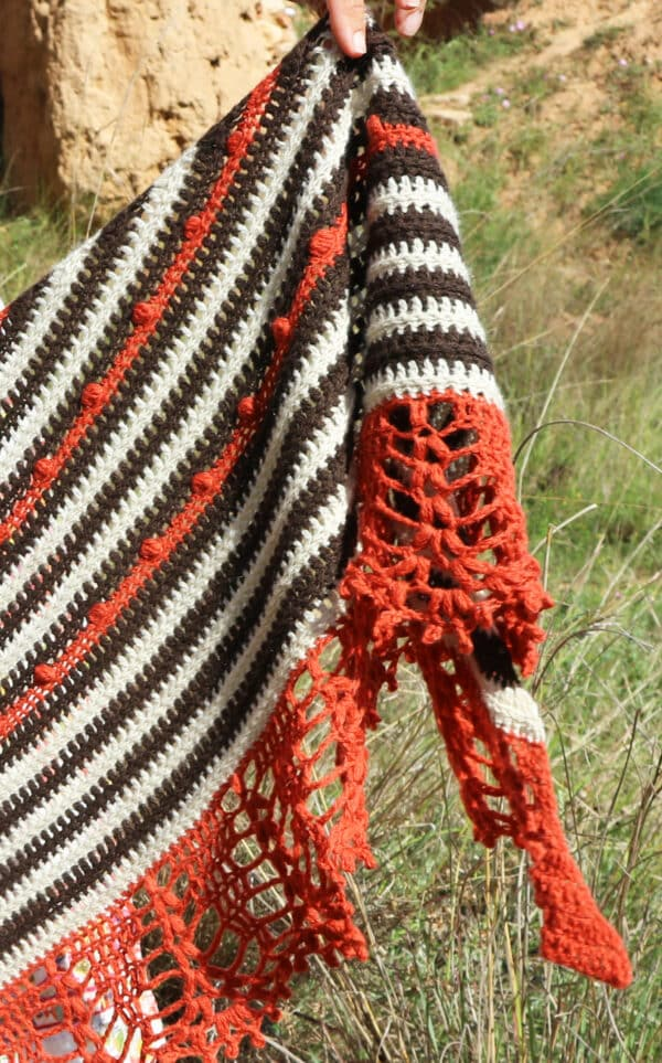 puntilla espectacular en crochet