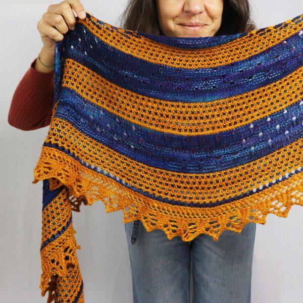 Earth Shawl knitting pattern