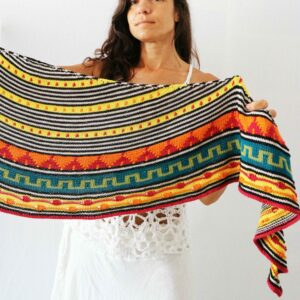 Tacuari Pora Shawl Knitting Pattern