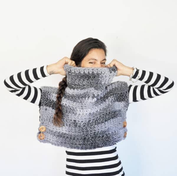 tutorial paso a paso para tejer un chaleco sin mangas