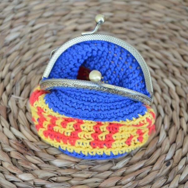 Tejer un monedero con tapestry en crochet