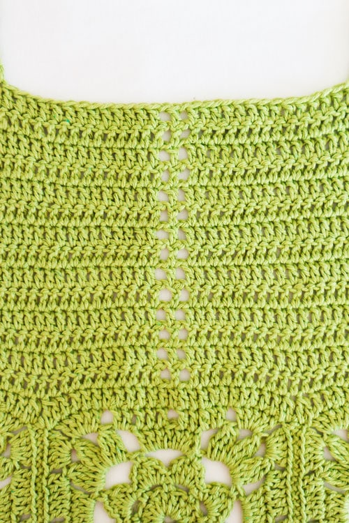 top facil de verano en crochet