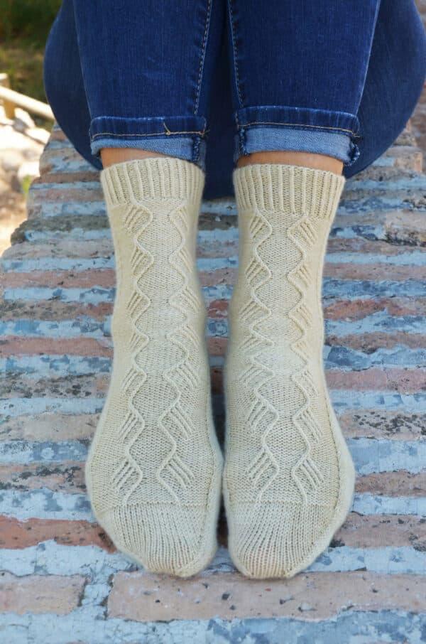 aprender a tejer calcetines para principiantes