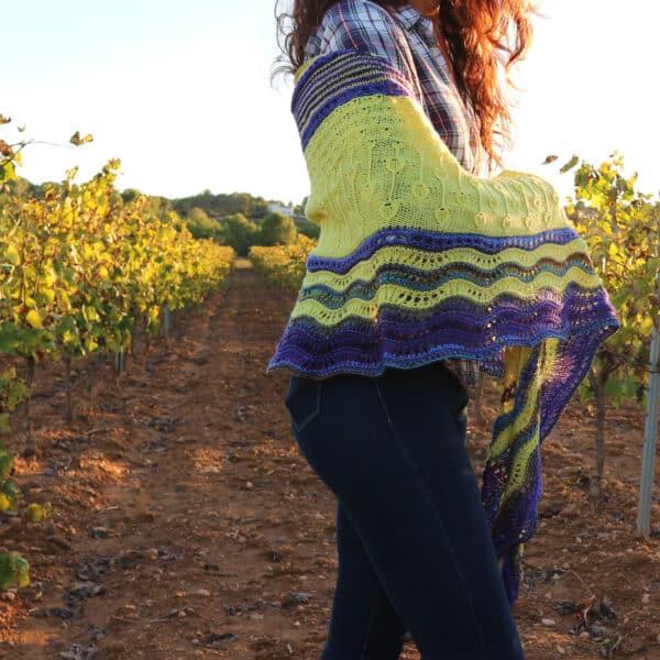 Chal Vida patrón tricot