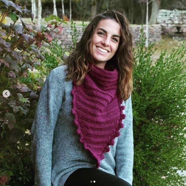 Maxi Cuello en Crochet Joya del desierto por Cecilia Losada de Mamma Do It YOurself