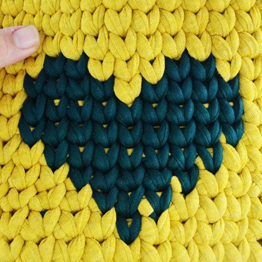como tejer un cesto de crochet