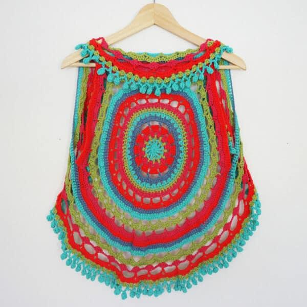 como tejer un mandala a crochet
