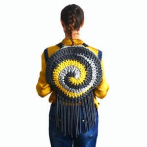 the spiral bag crochet pattern