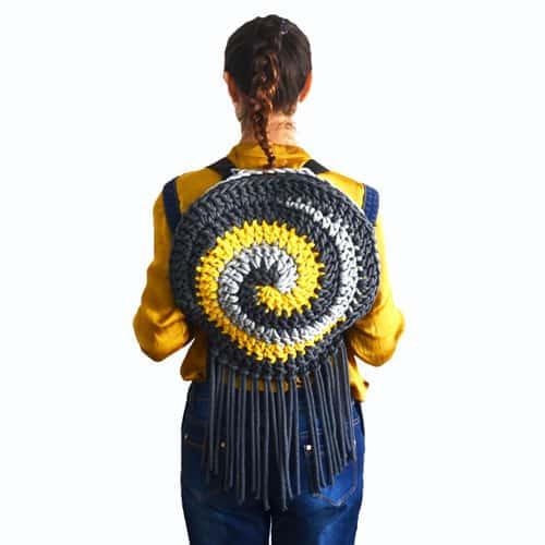 the spiral bag crochet pattern
