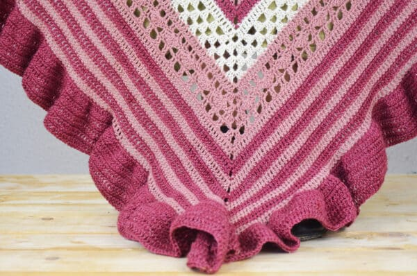 crochet pattern ole shawl