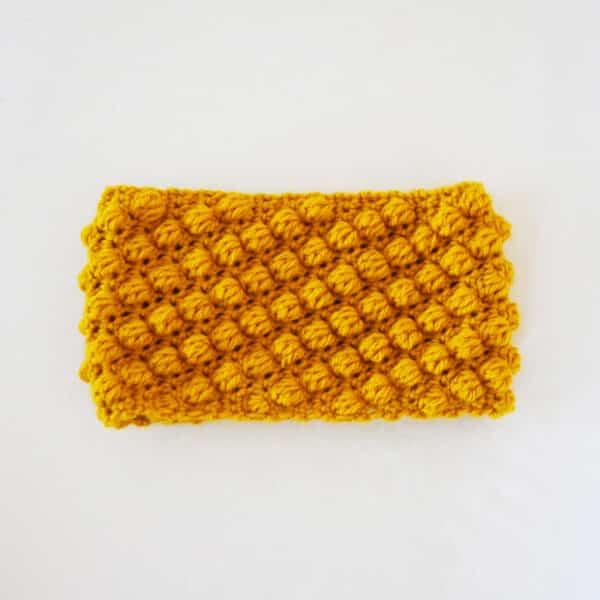 bobble headband crochet pattern