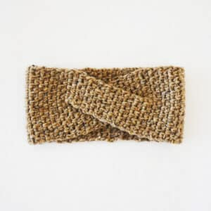 cross headband crochet pattern all sizes