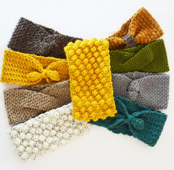 turbantes en crochet