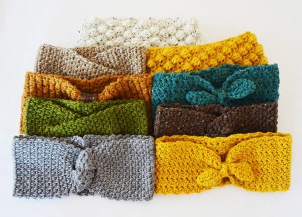 aprende a tejer turbantes faciles para principiantes
