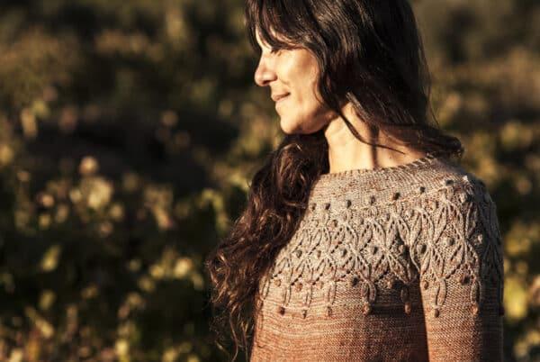 patrón tricot sweater alkharif por cecilia losada