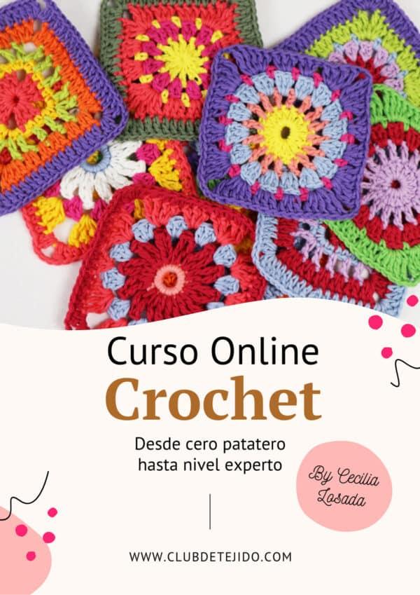 Curso de Crochet Online para principiantes