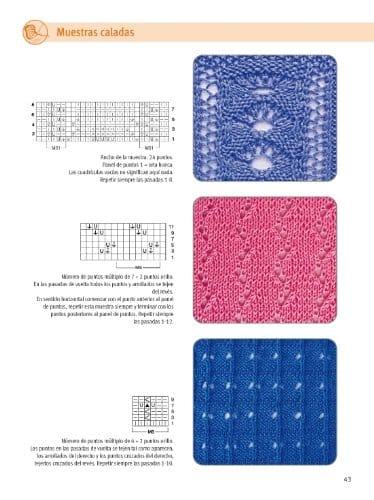 Libro de muestrario de puntos