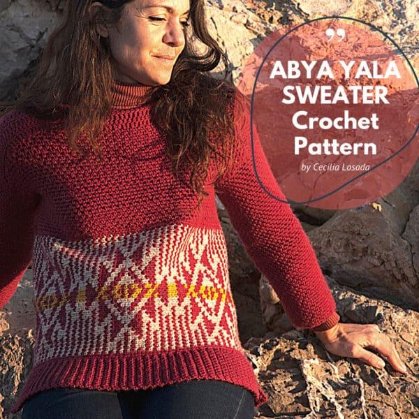 patrón suéter mujer ganchillo