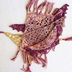 curso chales en crochet