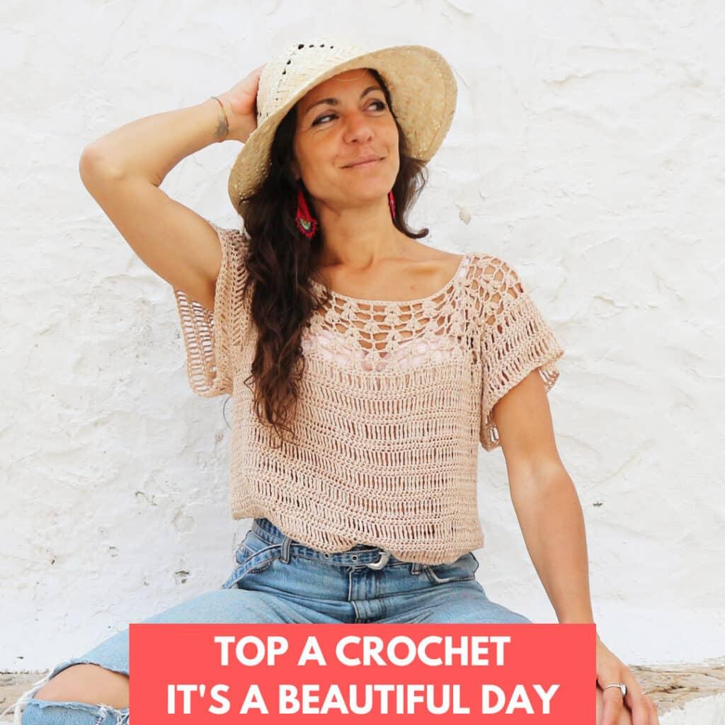 top a crochet para mujer de verano