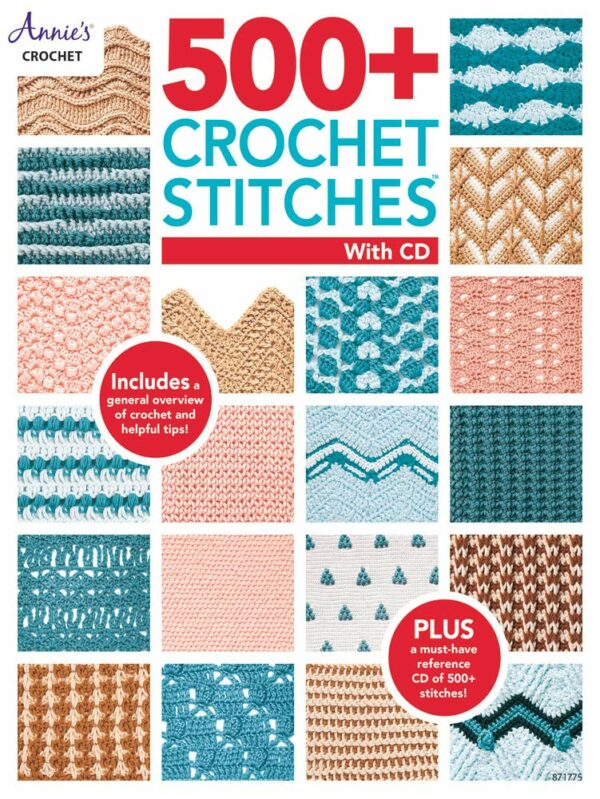 500 crochet stitches with cd