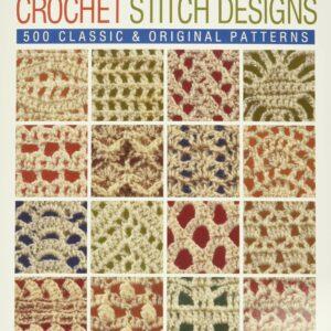 book of crochet stitch designs